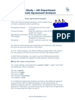 Case Study Hr Dept Attribute Agreement Analysis