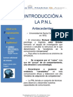 INTRODUCCIÓN A LA PNL  Oct