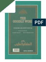The Goodly Word by Shekh AlIslam Ibn Taymiya