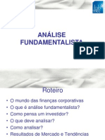 ANÁLISE FUNDAMENTALISTA - Prof. Leandro