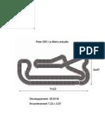 Piste SRC Le Mans Actuelle