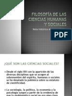filosofadelascienciashumanasysociales-100531201209-phpapp01