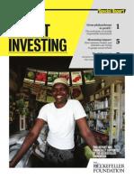 Report Impact Investing