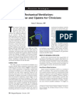 Mechanical Ventilation - A Review and Update for Clinicians, 99