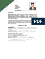 Jesh Biodata PDF