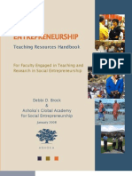 Social Entrepreneurship Handbook
