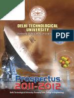 Dtu Prospectus 2011