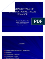 Fundimentals of International Trade Finance 1.10.07