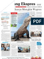 Koran Padang Ekspres   Minggu, 30 Oktober 2011