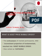 Japan asset buuble crisis