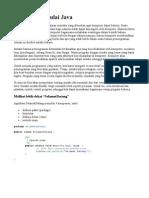 Java 03 Memulai Java