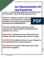 O Level Biology Notes
