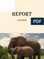 Report - Listening