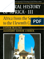 General History of Africa Vol 3