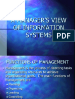 L2 - A MANAGER'S VIEW OF INFORMATION SYSTEMS