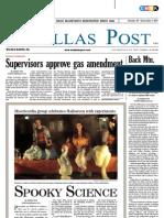 The Dallas Post 10-30-2011