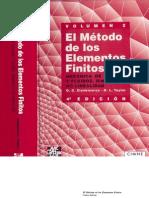Zienkiewicz-Taylor - El Método de los Elementos Finitos (Vol 2)