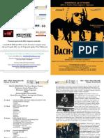 Programma di Sala Orchestra ClassicaViva Concerto Vigevano 30 Ottobre 2011