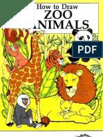Como Desenhar Animais Zoo