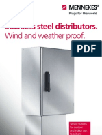 Mennekes Receptacle Stainless Steel Distributors