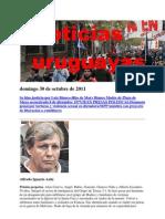 Noticias Uruguayas Domingo 30 de Octubre de 2011