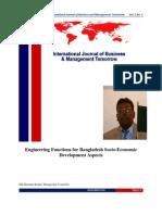 Rashid, M.M  (2011), Engineering Functions for Bangladesh Socio-Economic Development Aspects, International Journal of Business and Management Tomorrow, Vol. 1(1) :1-11; (India); Retrieve from  http://www.ijbmt.com/issue/35.pdf