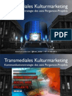 """Transmedia Storytelling - Strategie für unternehmerische Kommunikation im """"Social Web"""""""