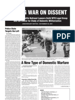 WAGING WAR ON DISSENT