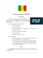 Constitution Senegal