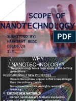 The Scope of Nanotechnology