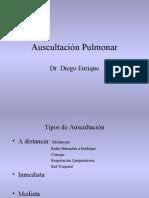 Auscultación Pulmonar
