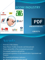 Telecom Industry Final Ppt