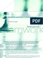 Hospitality Operations in Travel %26 Tourism First Assignment the Hospitality