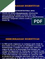 HEMORRAGIA DIGESTIVAS