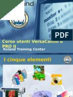 Corso Versacamm e PRO II