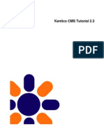 Kenticocms Tutorial Aspx