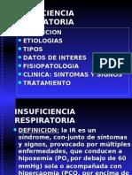 Insuficiencia Respiratoria y Sdraa