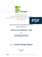 Apostila CIM II_Propriedades Mecânicas