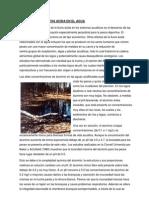 Efectos de La Lluvia Acida en El Agua