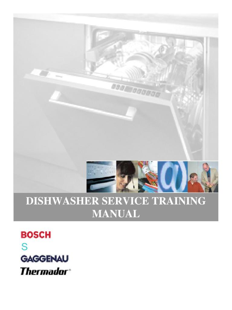bosch dishwasher service training dishwasher water heating rh scribd com bosch aquasensor dishwasher parts Bosch Dishwasher Silence Plus 50 DBA Manual