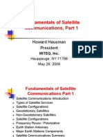 View Graphs Fundamentals Satellite Communication Part 1