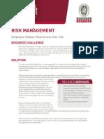 Risk Management RISK 1210