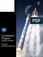 Constellation Program Lessons Learned Vol I Executive Summary