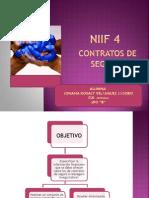 Presentación NIIF 4