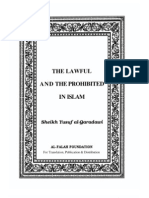The Lawful and the Prohibited in ISLAM by Sheikh Yusuf Al-Qaradawi