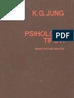 Carl Gustav Jung - Psiholoski Tipovi