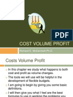 Cost Volume Profit Revised March 3 08
