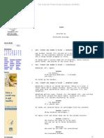 Babel Script. Guillermo Arriaga