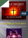 Bible Secret in Seven Slides