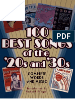 100 Best Songs of the 20s 30s